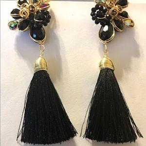 """3"""" Black Earrings"""